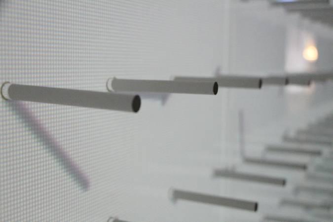 沈聖博《pin shadow》細節。圖/非池中藝術網攝。