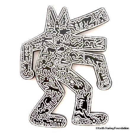 〈狗〉Dog。圖/Keith Haring Foundation提供。