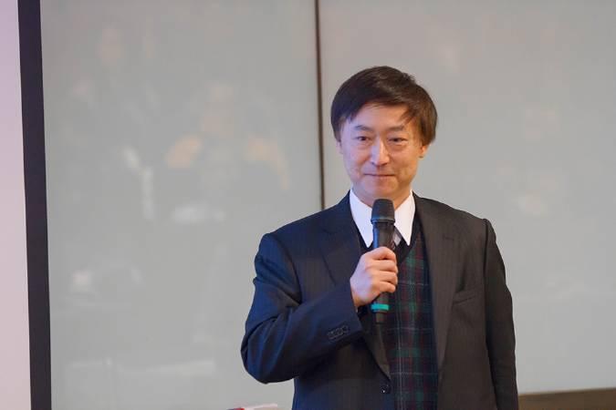 益鼎創業投資管理股份有限公司副總經理楊宗亮。