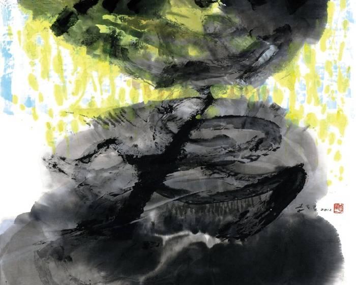 一諾藝術【新春賀年展】劉國松、李重重、丁雄泉、霍剛、楊明迭名家作品展
