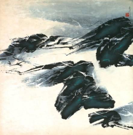 冬日的思 劉國松