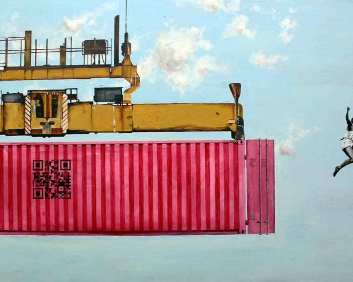秋刀魚藝術中心【Containerland 貨櫃之地】Lalo Cruces 個展