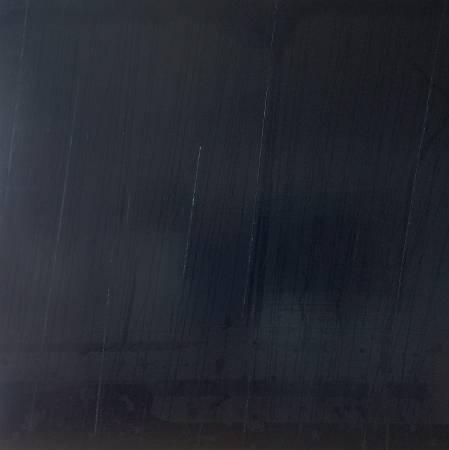 平川恒太_模糊的畫 Ambiguous Painting_130 x 130 cm_ acrylic and oil on canvas_2016