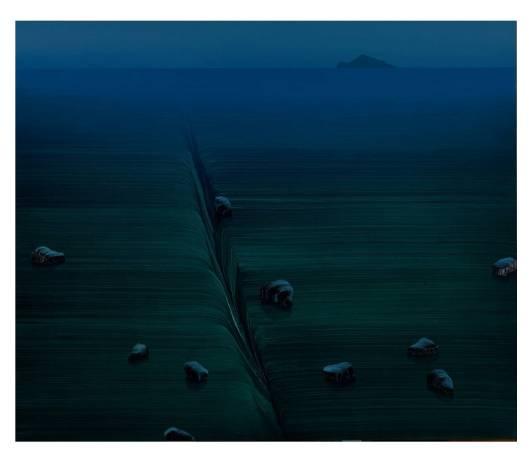 林萬士,《暮光之晨》,2015。