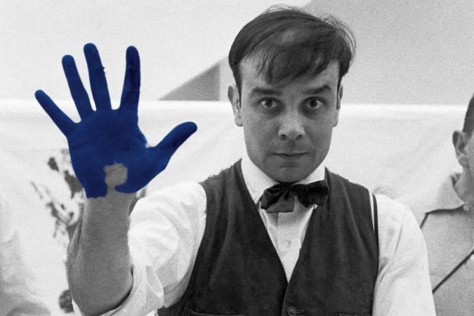 法國藝術家伊夫•克萊因。