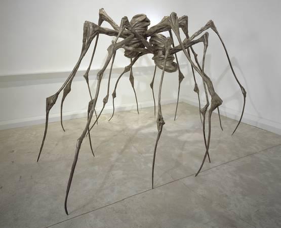 路易絲‧布爾喬亞《Spider Couple》。圖/取自Art Basel。