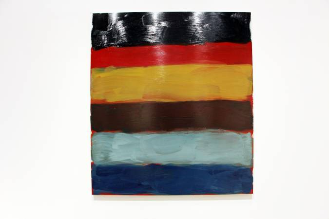 愛爾蘭藝術家肖恩·斯庫利《Untitled (Landline)》。圖/非池中藝術網攝。