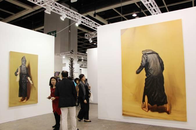 比利時藝術家波雷曼斯《The Limbs》與《The Shaker》。圖/非池中藝術網攝。
