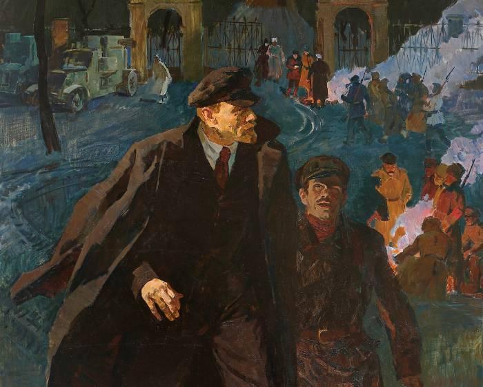 歷史是永遠畫不完的題材 葉列梅耶夫