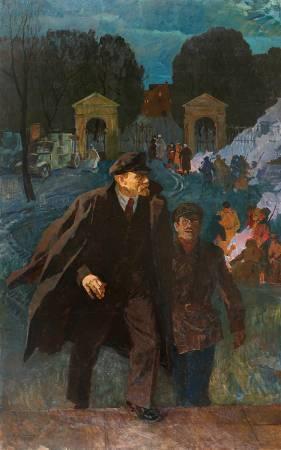 葉列梅耶夫,《十月之火》,1977-1980。