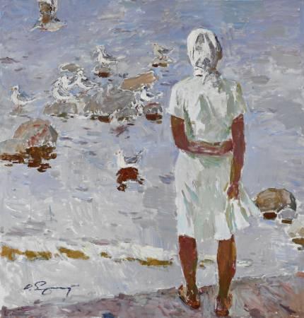 葉列梅耶夫,《Seagulls》,2008。
