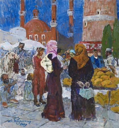 葉列梅耶夫,《東方市場》, 2009。