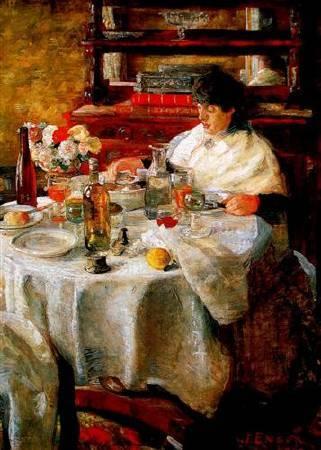 恩索爾,《The Oyster Eater》,1882。
