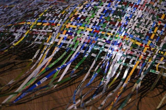 楊金池《123汙染解決方案》。圖/非池中藝術網攝。