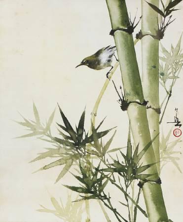 黃幻吾,《綠竹啼鳥》