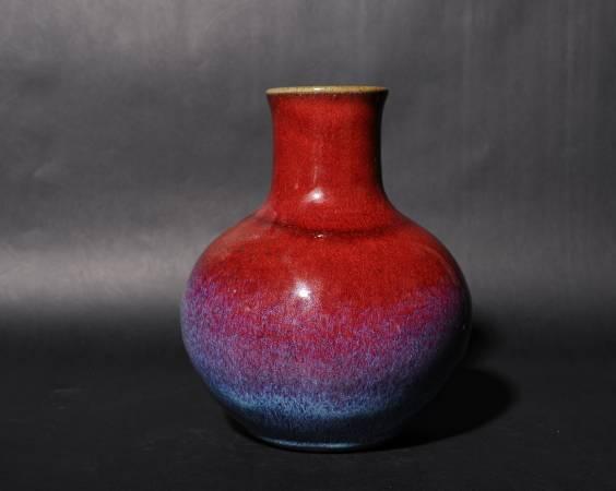 劉再興 銅釉天球瓶