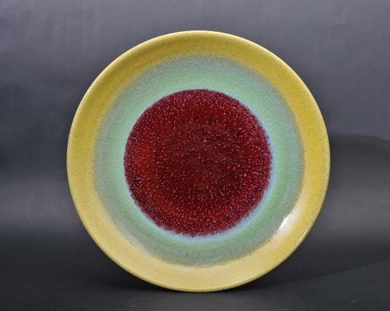 劉再興 黃綠紅三色盤