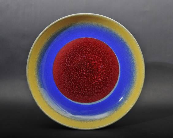 劉再興 紅青藍綠黃五色盤