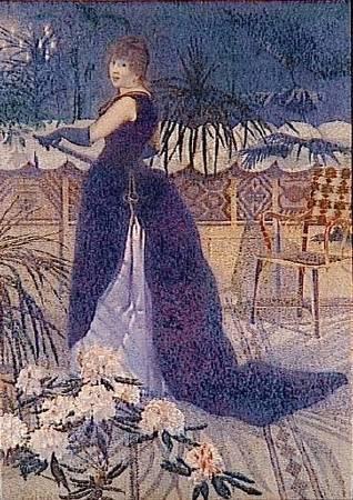 克羅斯,《海克特·法蘭斯夫人》,1891。