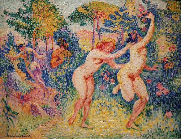 克羅斯,《La fuite des nymphes》,1906。