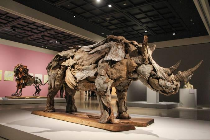 美國藝術家傑夫洛.烏伊托作品。圖/非池中藝術網攝。