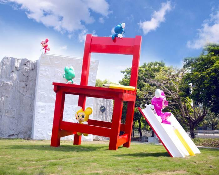 新營美術園區【都市藝術工作室】童年狂想曲