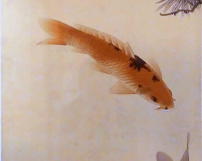 名畫家魚展廳【美國第一家專門展出以魚為水墨題材的展場】