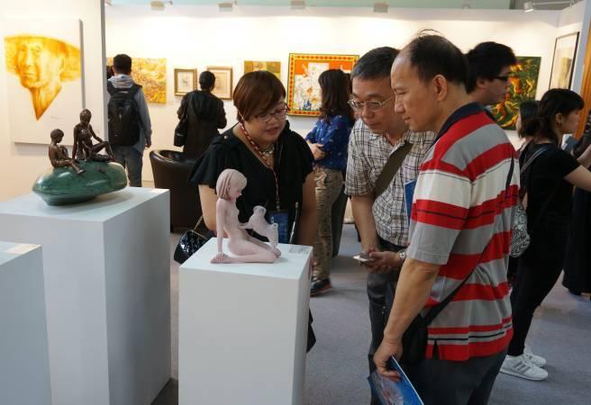 台北新藝術博覽會協辦的「國際藝術家大獎賽」是參賽者躍上國際的絕佳舞台。