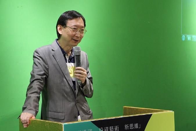 帝圖科技文化股份有限公司董事長劉熙海致詞。圖/帝圖科技文化公司攝。