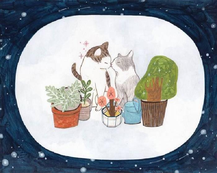 臺中市港區藝術中心【親愛的壞貓先生】原畫展