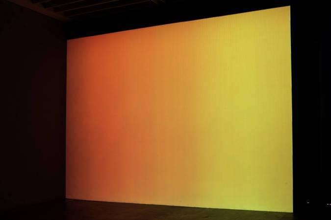 杜珮詩《抽象與真人動畫的「射入亞洲美眉的騷穴」》。圖/非池中藝術網攝。