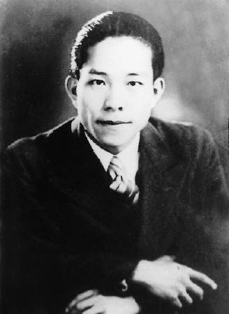 1936年德國柏林奧林匹克藝術競賽得獎台灣人江文也。圖/取自Wikipedia。
