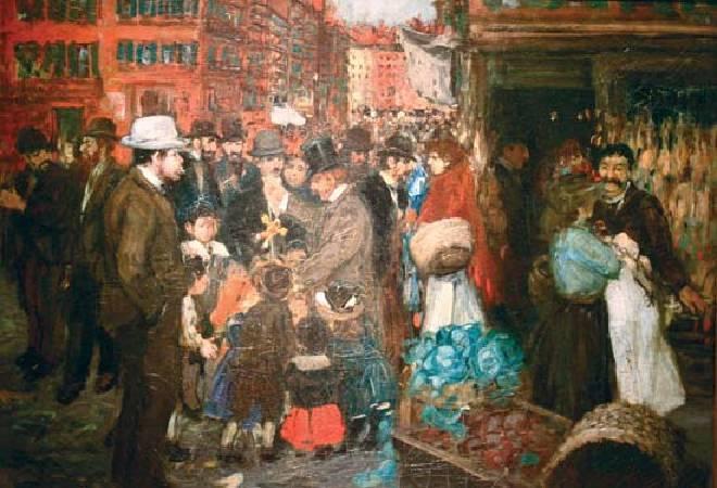 盧卡斯,《赫斯特街》,1905年。