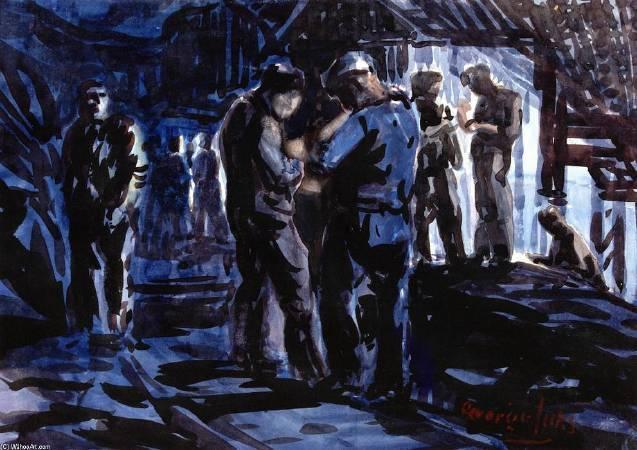 盧卡斯,《Coal Miners》,1923-1927年。