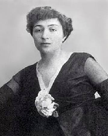 Aleksandra Ekster。圖/取自Wikipedia。