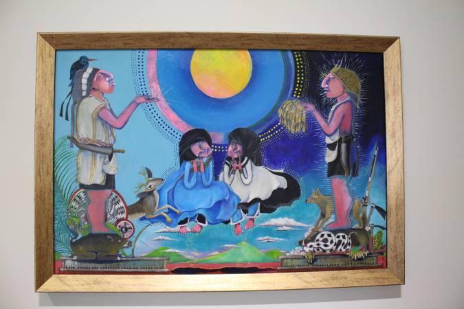 依法兒.瑪琳奇那《月祭》。圖/ 非池中藝術網 攝。