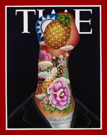 張瑞頻《時代夫人TIME系列之三》。圖/藝境畫廊提供