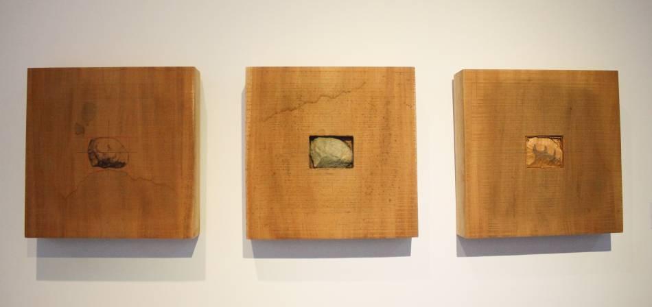 王耀俊的《此時此刻》。圖/ 非池中藝術網 攝。