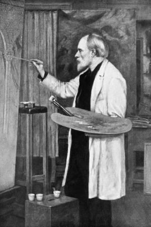 英國畫家愛德華.伯恩-瓊斯(Edward Burne-Jones)在聽聞木乃伊棕的成份來源後馬上銷毀了顏料。圖/取自nationalgeographic。