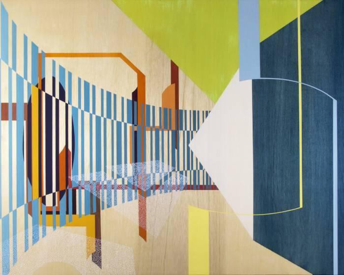 藍騎士藝術空間【 Bryan Ida - City Symphony  】色彩與記憶織疊的城市交響