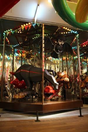 羅納德.溫杜拿《旋轉木馬》。圖/非池中藝術網 攝。