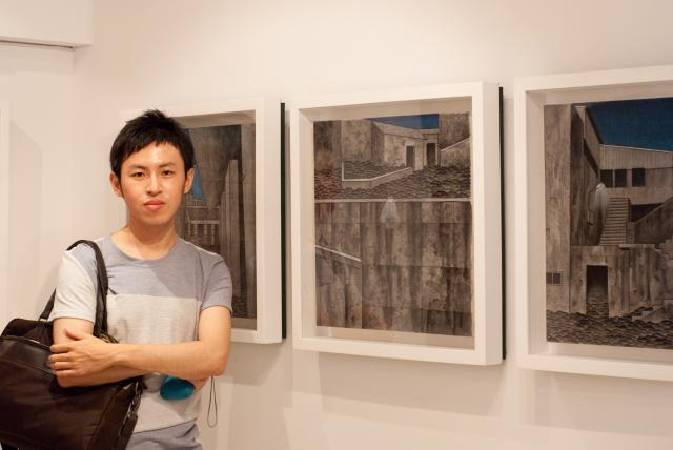 葉仁焜,Photo by http://gallery.artron.net/w_work_detial.php?ArtWorkId=371930