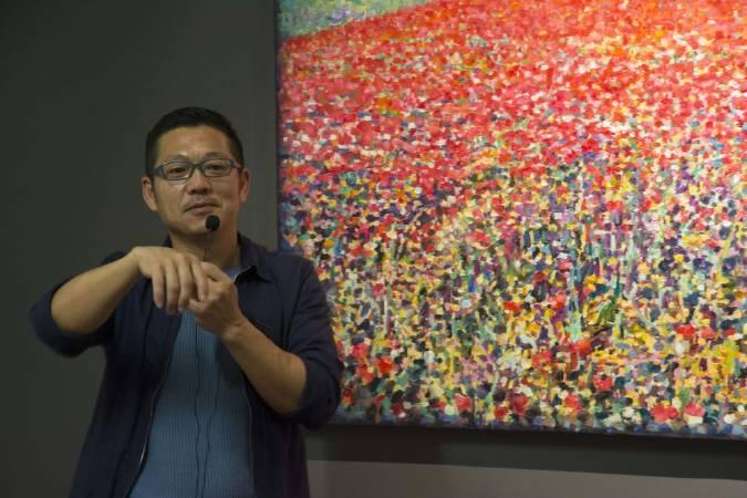 翁明哲,Photo by http://www.mingshanart.com/new-blog/2016/4/17/horizon