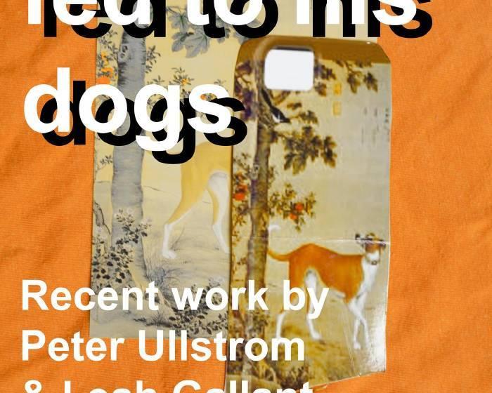 自由人藝術公寓【朗世寧餵狗 Giuseppe Fed to his Dogs】駐村藝術家雙個展