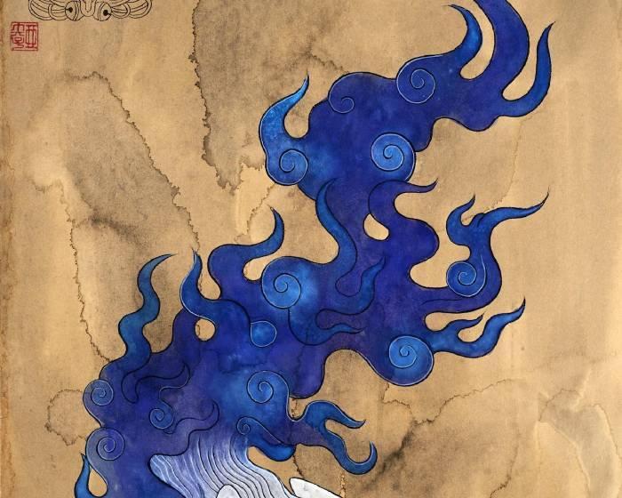 金魚空間【石黑 亞矢子 個展「水和火的獸類展」】Ayako ISHIGURO Solo Exhib