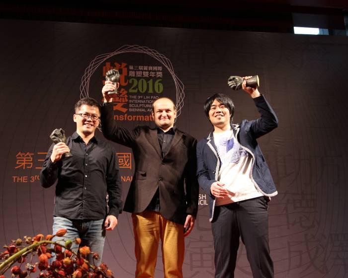2016第三屆麗寶國際雕塑雙年展 台灣董明晋獲銀獎