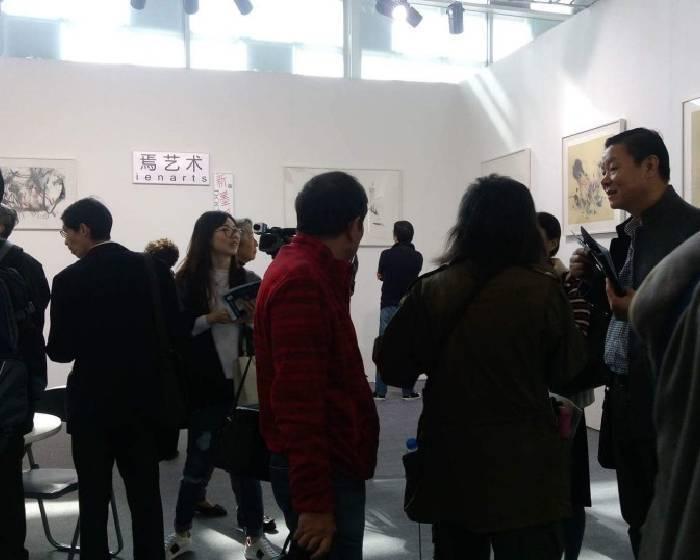 【上海電視台專題報導】焉藝術上海藝博會特展