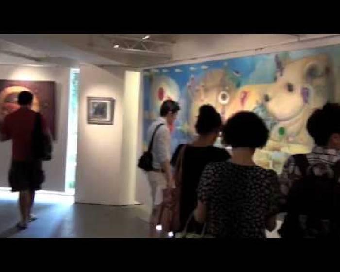 畫展開幕花絮:首都藝術中心 -紅膠囊個展花絮