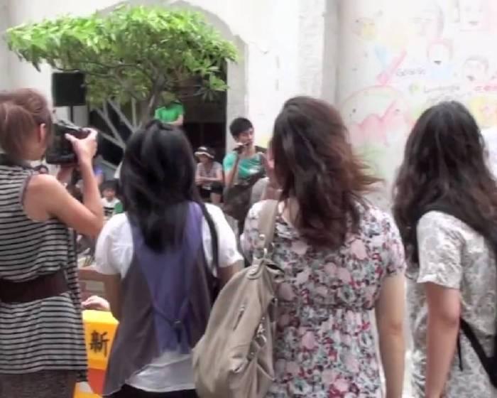 藝文直擊:【新竹鐵道藝術村】_鐵道藝術彩街日花絮影片