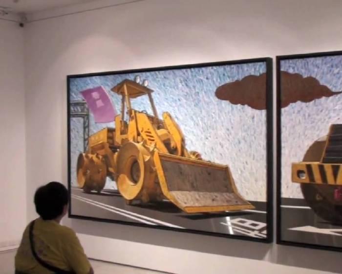 導覽:【藝術旅途中的城市人】大未來林舍 形而上畫廊